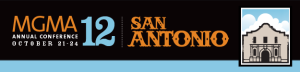 MGMA 2012 San Antonio Logo Banner
