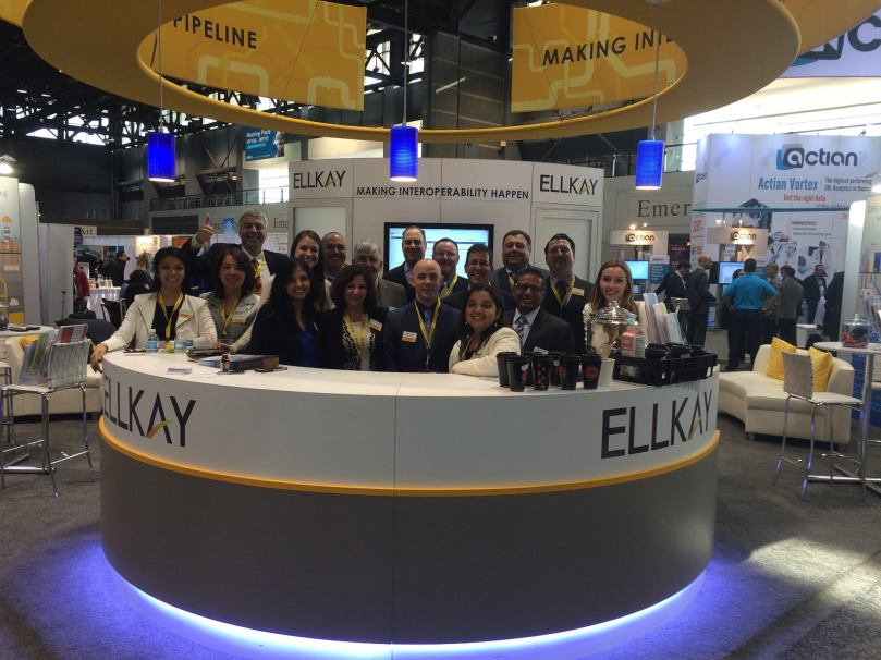 ELLKAY HIMSS 2015 booth